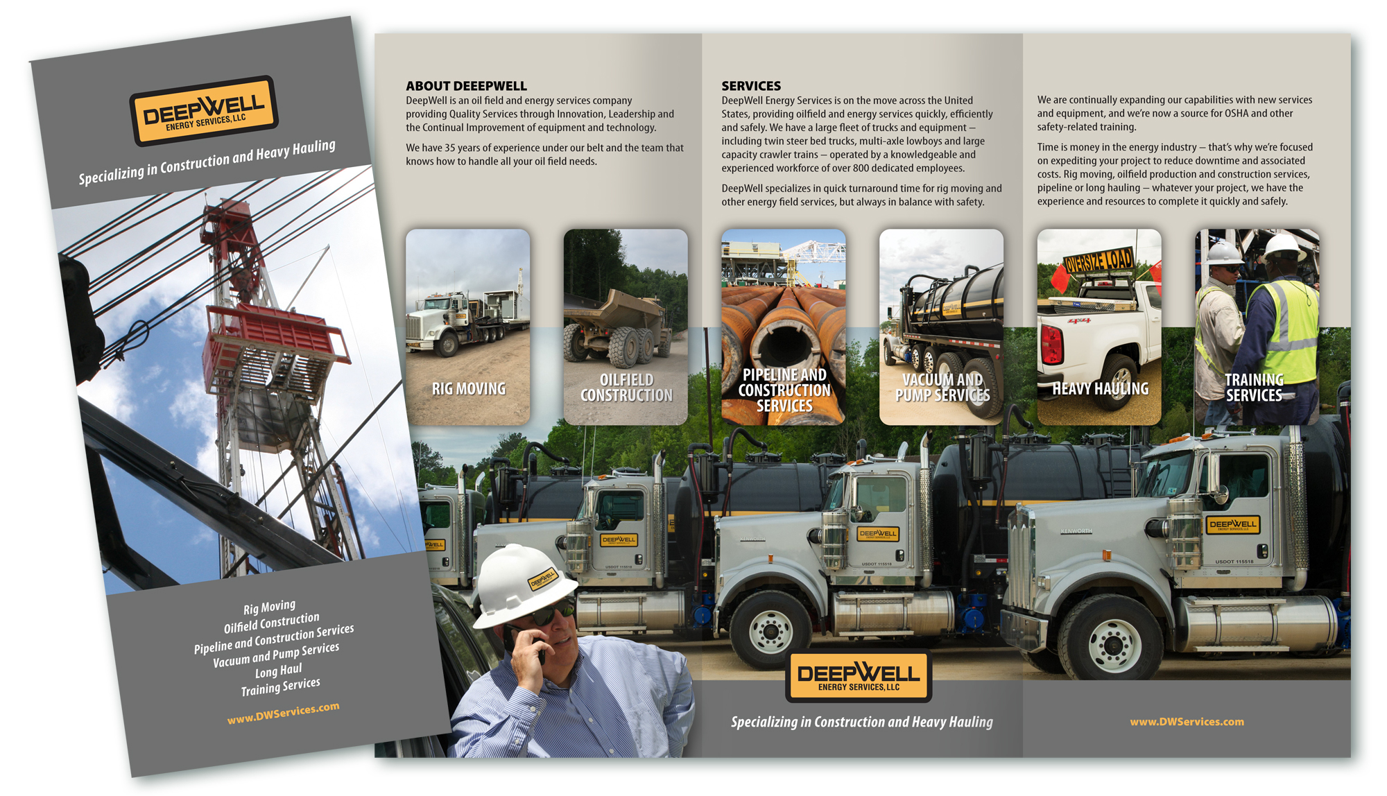 Collateral Brochure for DeepWell Energy Services