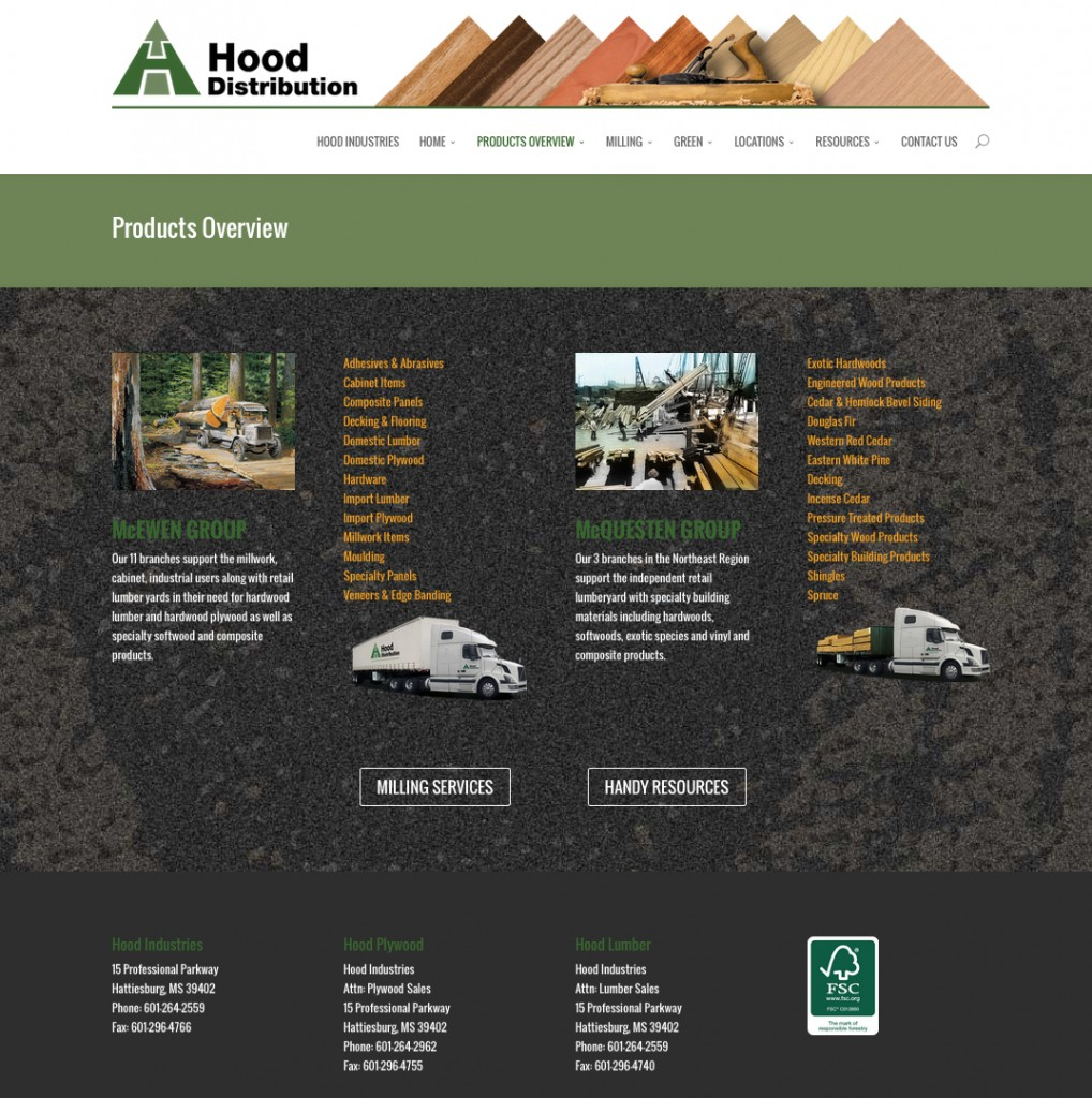 Hood Distribution