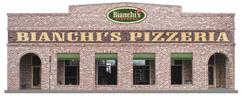 Bianchi's Exterior Facade Signage