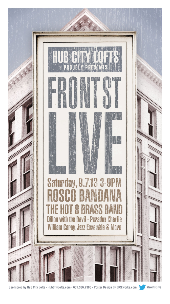Front Street Live Poster