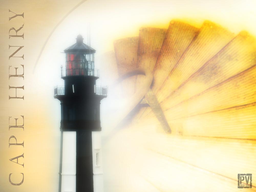 Historic Cape Henry Lighthouse in Virginia Beach, VA