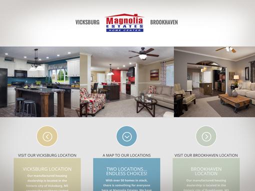 Magnolia Estates Website